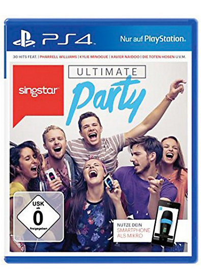 ps4 singstar ultimate party mytoys. Black Bedroom Furniture Sets. Home Design Ideas