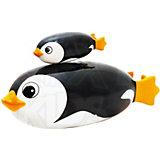 Игрушка для ванной и бассейнов TURBO FISH  с детенышем на магните, Roxy-kids, Пингвинчики