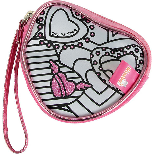 Color Me Mine Diamond Party Heart Purse