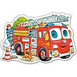 """Пазл """"Пожарная машина"""", 15 деталей, Castorland"""