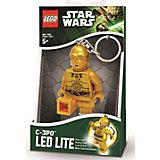 """Брелок-фонарик для ключей """"C3PO"""", LEGO Star Wars"""