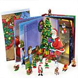 """Книжка с игрушками """"Веселого рождества!"""""""