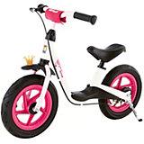 KETTLER Laufrad Spirit Air 12,5'' Princess, weiß-schwarz-rosa