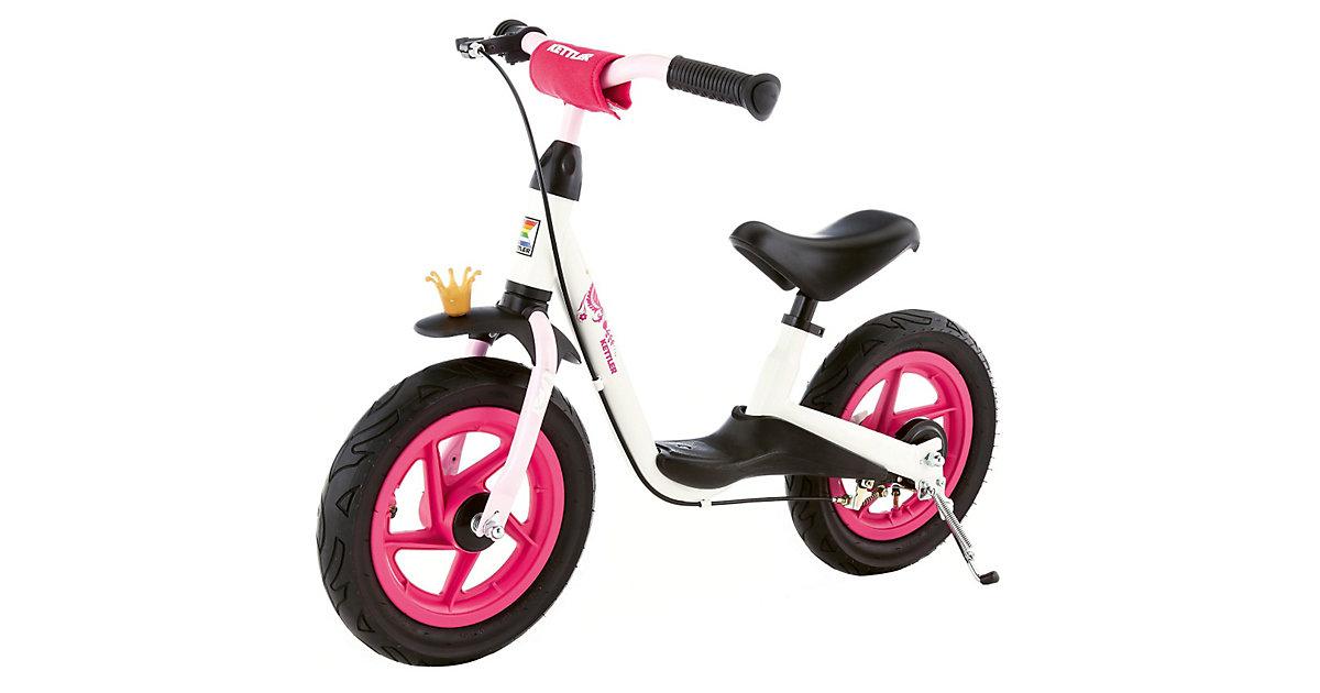 Laufrad Spirit Air 12,5´´ Princess, weiß-schwarz-rosa pink