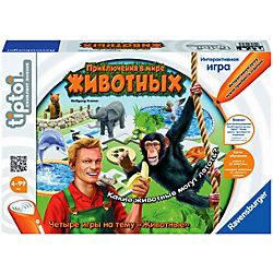 """Интерактивная игра """"Приключения в мире животных"""" (без ручки), Tiptoi"""