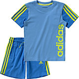 adidas Performance Sommer Set: T-Shirt + Shorts für Jungen