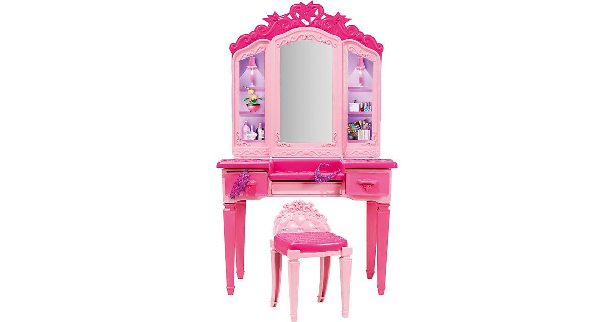 Barbie in ´´Die Super-Prinzessin´´ Frisiertisch