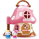 Уютный домик-грибочек Hello Kitty, Blue Box