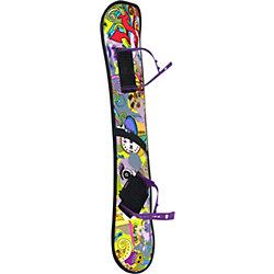 Сноуборд, пластиковый, с облегченным креплениями, Цикл