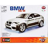 Машина BMW X6M металл. сборка, 1:18, Bburago