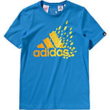 adidas Performance T-Shirt ClimaLite für Jungen, blau