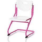 Schreibtischstuhl KID's Chair Plus, pink/weiss