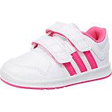 adidas Performance Baby Sportschuhe LK Trainer, weiß/pink