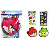 Большой набор наклеек 3D, Angry Birds