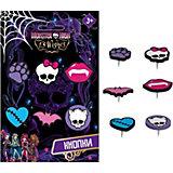 Кнопки с резиновыми головками, Monster High