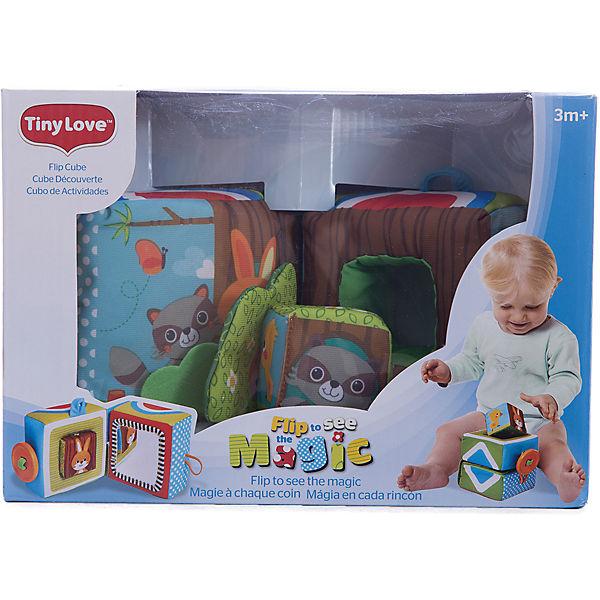 Развивающая книжка-куб, Tiny Love