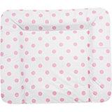 Wickelauflage Molly, Schlafmütze, rosa, 85 x 75 cm