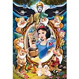 Пазлы Принцессы Дисней Белоснежка - коллаж, 160 элементов