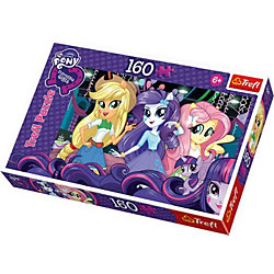 "Пазл ""На балу. Equestria Girls"", 160 деталей, Trefl"