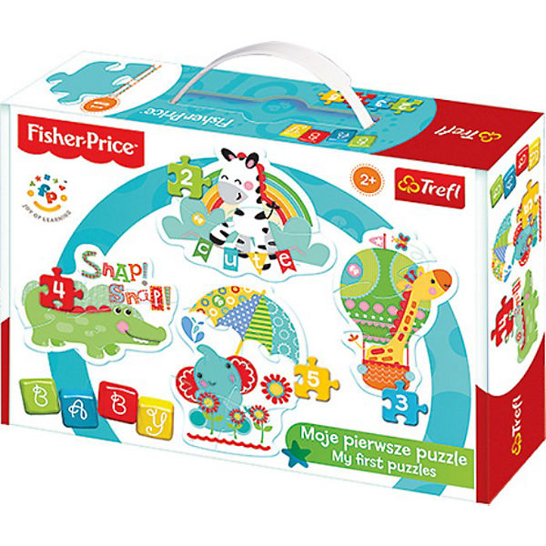 Baby Puzzle - Fisher Price - Rainbow Forest