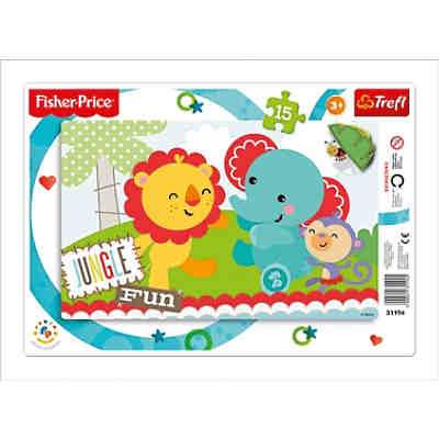 Ramenpuzzle 15 Teile - Fisher Price - Rainbow Forest