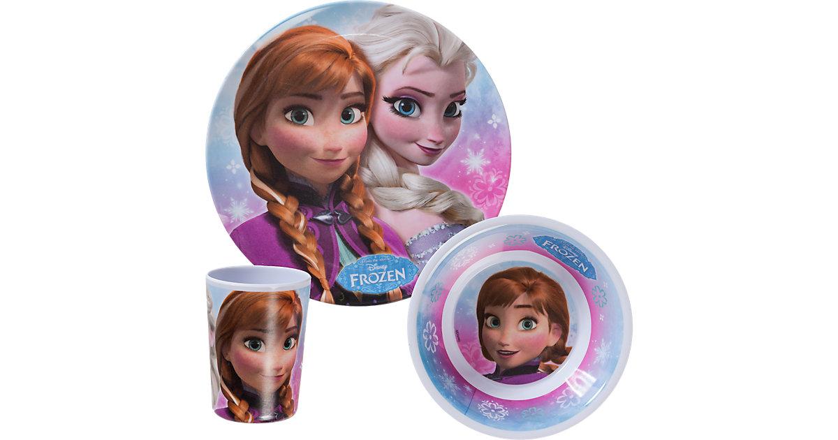 Kindergeschirr Melamin Disney Die Eiskönigin , 3-tlg.