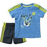 adidas Performance Baby Sommer Set: T-Shirt + Shorts für Jungen