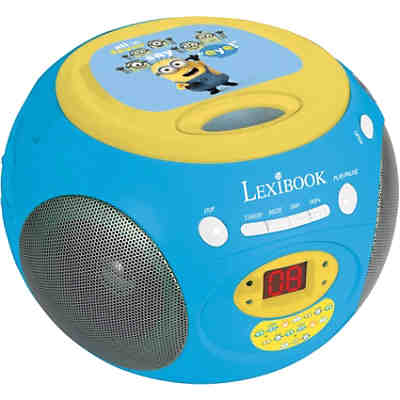Minions CD Player mit Radio