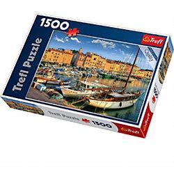 "Пазл ""Старый порт Сен-Тропе"", 1500 деталей, Trefl"