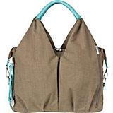 Wickeltasche Greenlabel, Neckline Bag, taupe