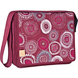 Wickeltasche, Casual, Messengerbag, Fossil rumba red