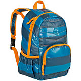 Rucksack, 4kids, Mini Quilted Backpack, Striped petrol