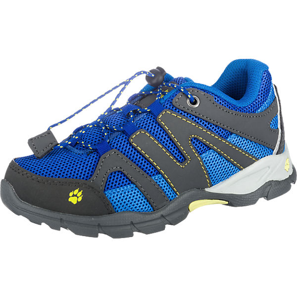 JACK WOLFSKIN Kinder Outdoorschuhe VOLCANO LOW, blau