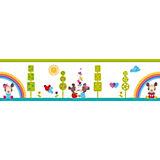 Bordüre Disney Baby, Minnie und Mickey Mouse