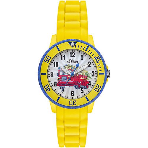 s.Oliver Kinder Armbanduhr Feuerwehr