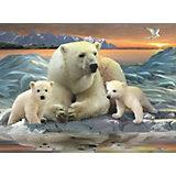 Пазл «Полярные медведи» XXL 200 деталей, Ravensburger