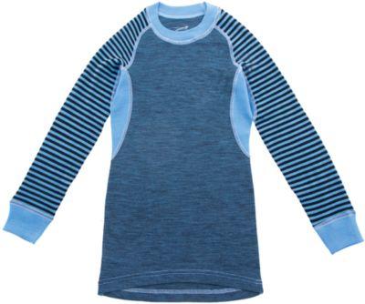 Футболка с длинным рукавом Norveg - голубой
