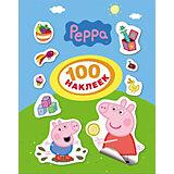 100 наклеек, Свинка Пеппа
