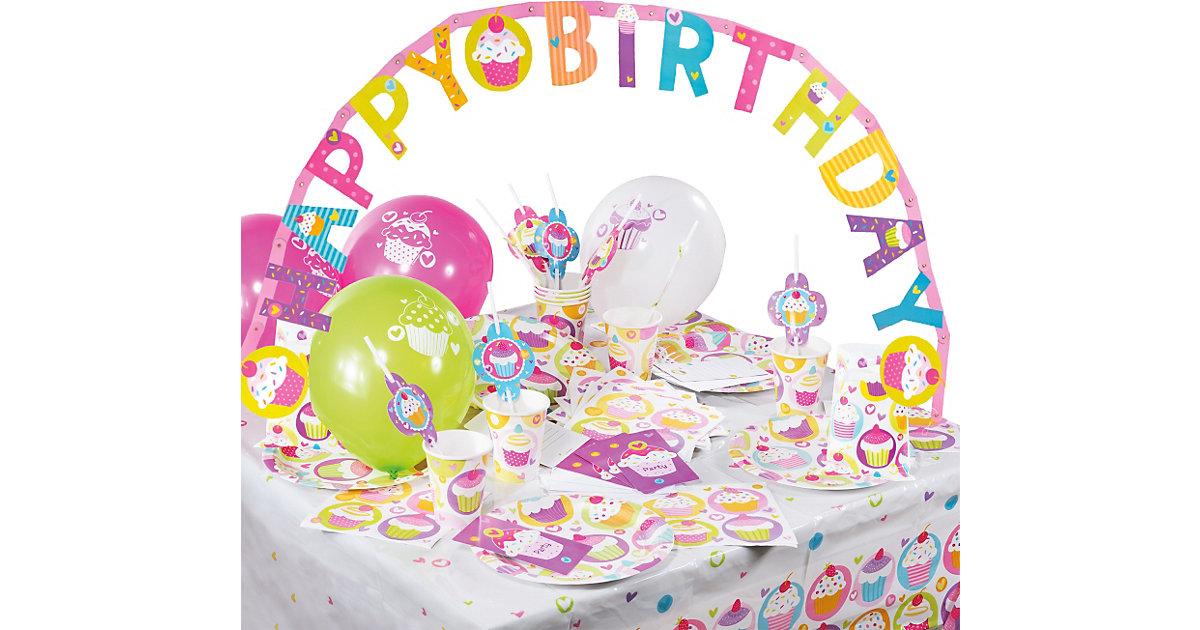 Partyset Cupcake, 64-tlg.