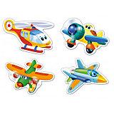 """Пазлы """"Смешные самолеты"""", 3*4*6*9 деталей, Castorland"""