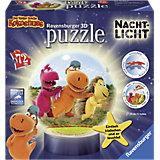 puzzleball® Nachtlicht Der kleine Drache Kokosnuss 72 Teile