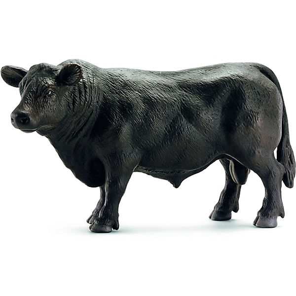 Schleich 13766 Farm World: Black Angus Bulle