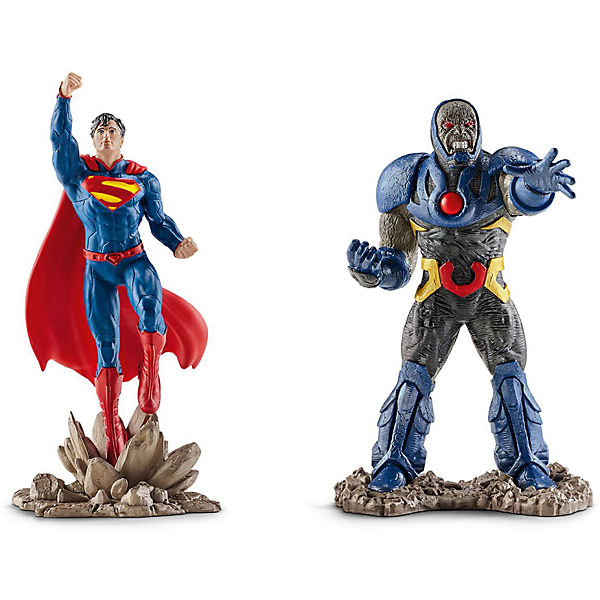 Schleich 22509 Justice League: Scenery Pack Superman vs. Darkseid