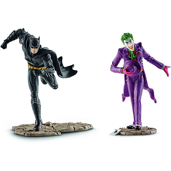 Schleich 22510 Justice League: Scenery Pack Batman vs. The Joker