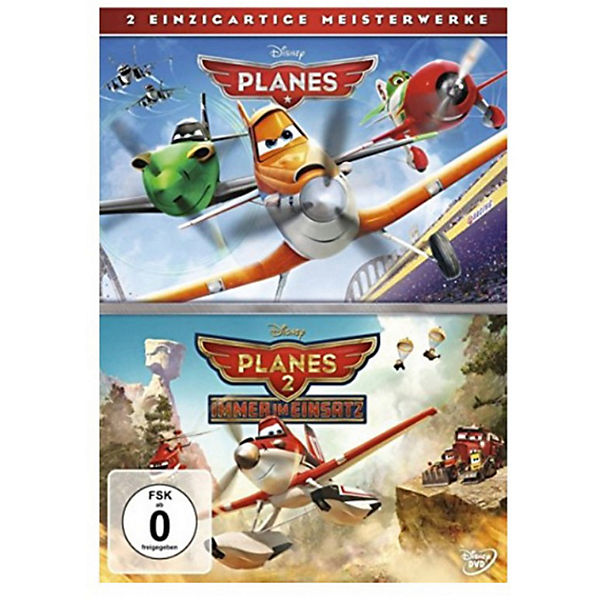 DVD Planes + Planes 2 Doppelpack