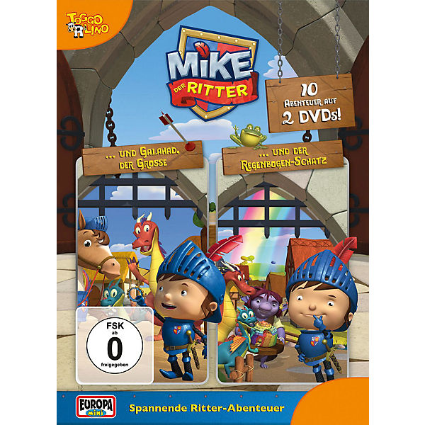 DVD Mike der Ritter - 2er DVD Box (1+2)