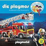 CD Die Playmos 42 - Großbrand in der Feuerwache