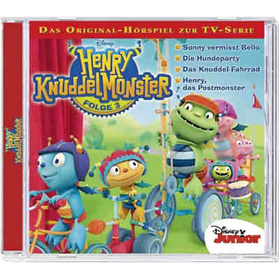 CD Disney Henry Knuddelmonster 03