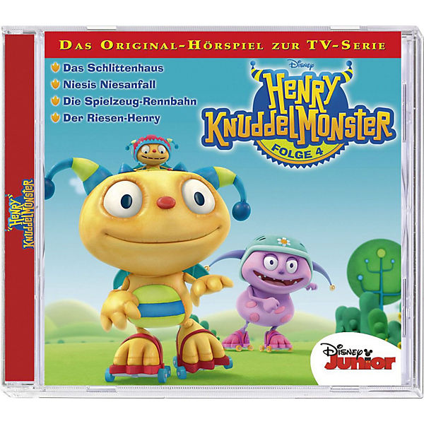CD Disney Henry Knuddelmonster 04