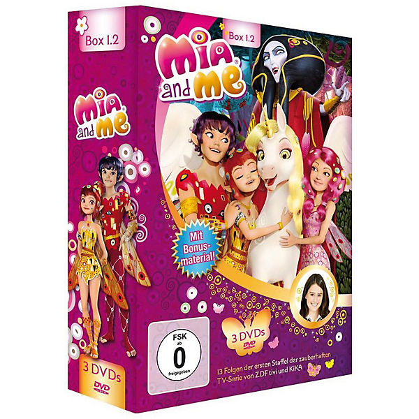 DVD Mia and Me - Box 1.2 (Staffel 1, Folge 14-26, 3 DVDs)